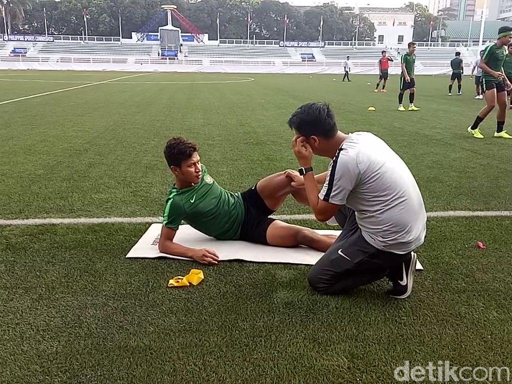 Jelang Myanmar Vs Indonesia, Osvaldo Haay Latihan Terpisah