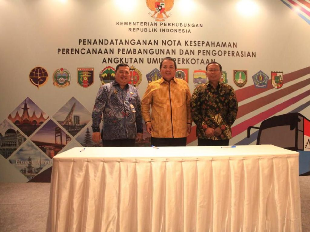 Kemenhub Bagi-bagi BRT ke 4 Daerah di Sumatera dan Kalimantan
