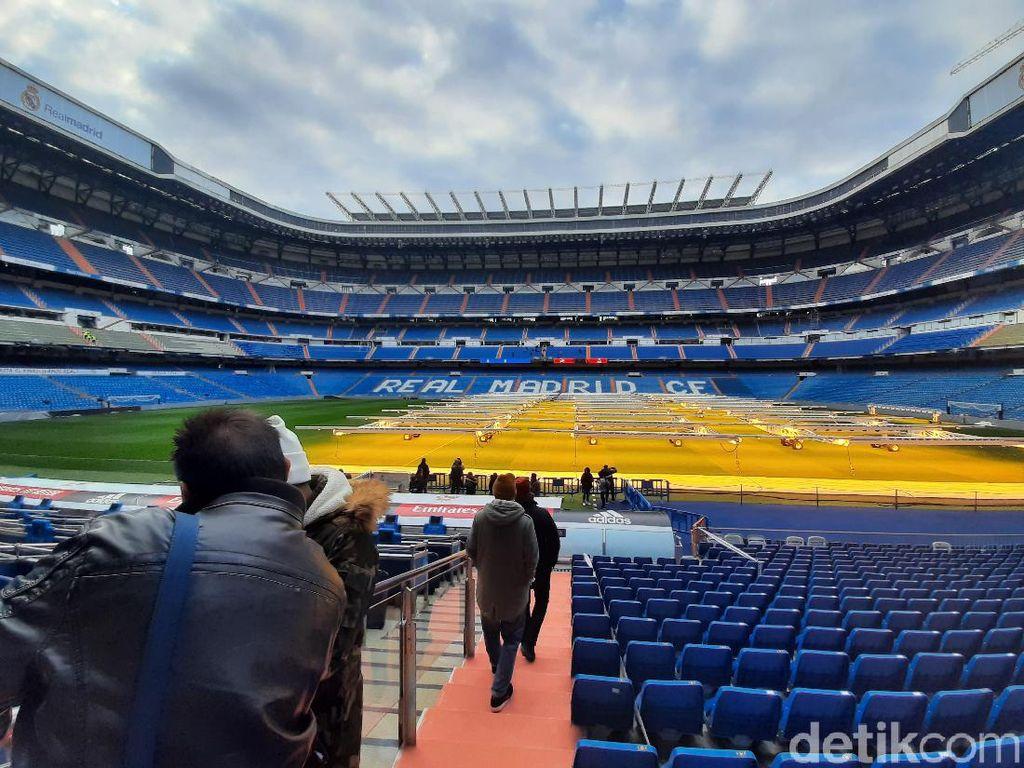 Mencicipi Tur ke Santiago Bernabeu: Hala Madrid!