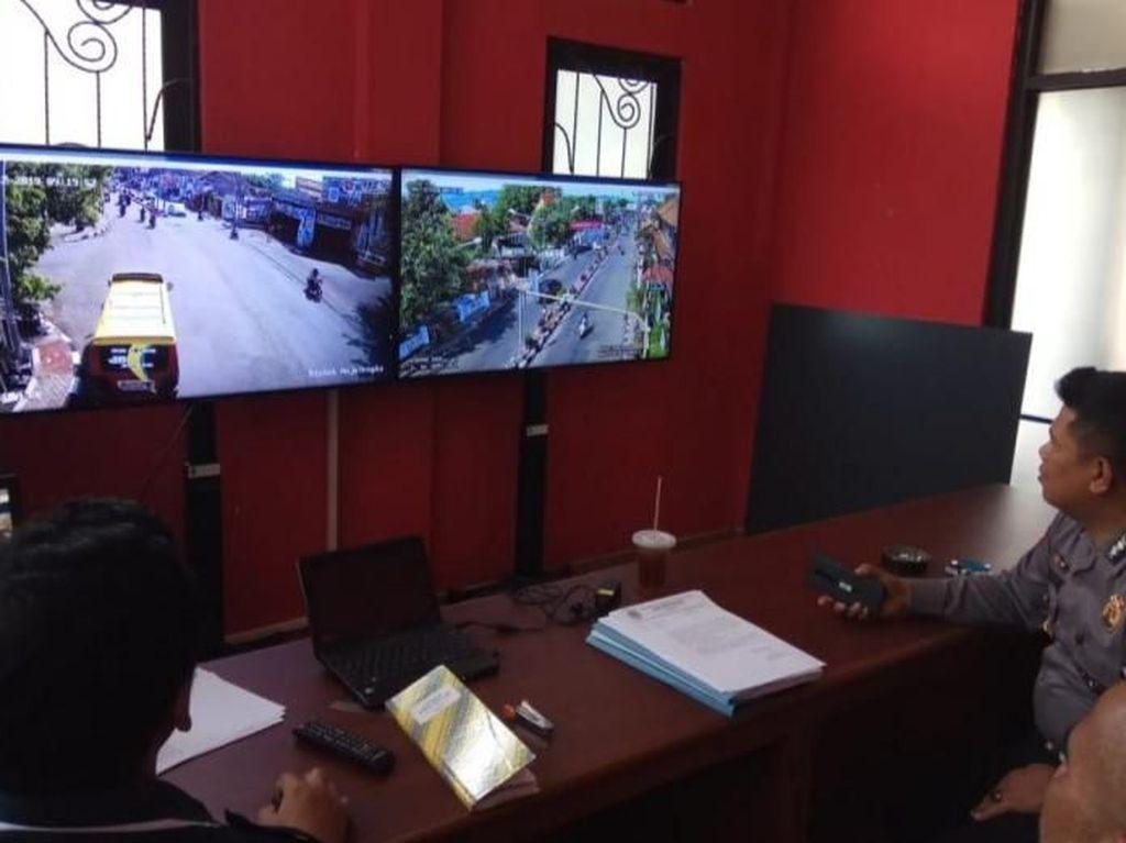 Tekan Kecelakaan, Polisi-Dishub Majalengka Pasang CCTV di Setopan