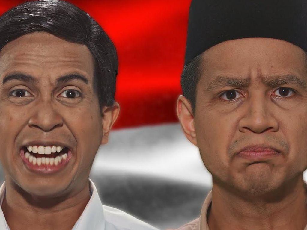 Prabowo Vs Jokowi Jadi Video Paling Trending di YouTube 2019