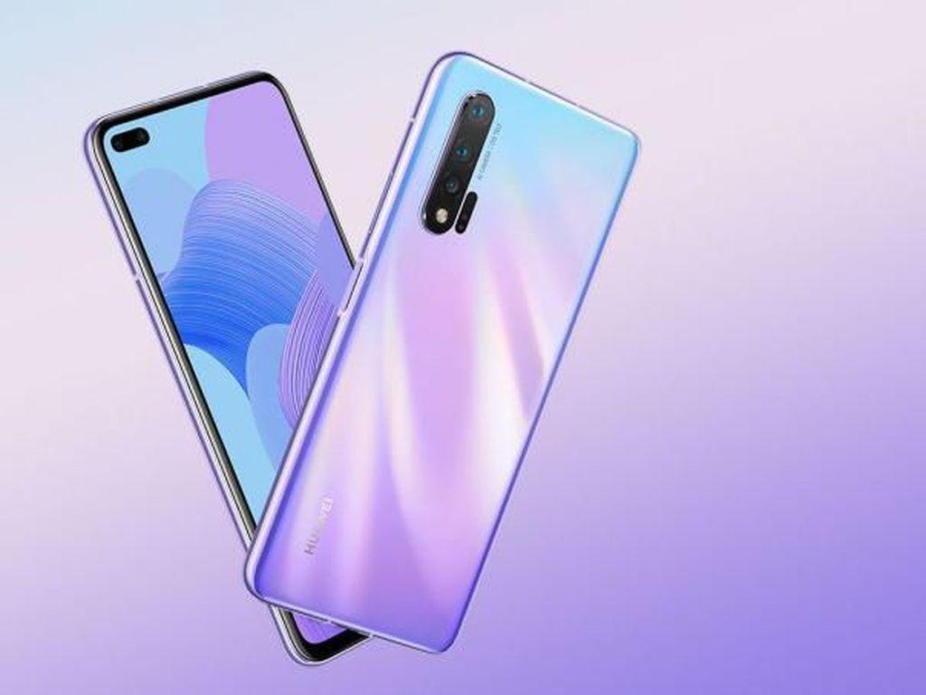 Huawei Nova 6 Diluncurkan, Usung 5G dan Kamera Selfie Sangar