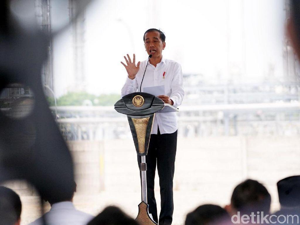 Presiden Resmikan Pabrik Baru Polyethylene