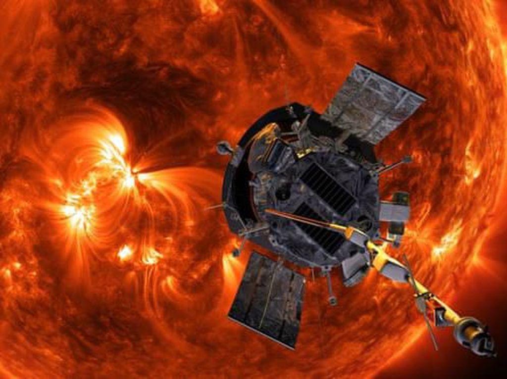 Pesawat NASA Catat Rekor Paling Cepat dan Terdekat dengan Matahari