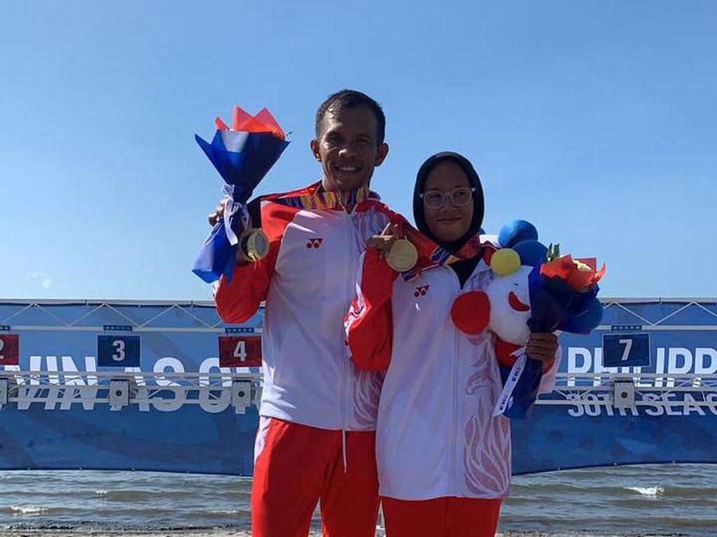 Indonesia Raih Emas ke-41 di SEA Games dari Cabang Pentatlon