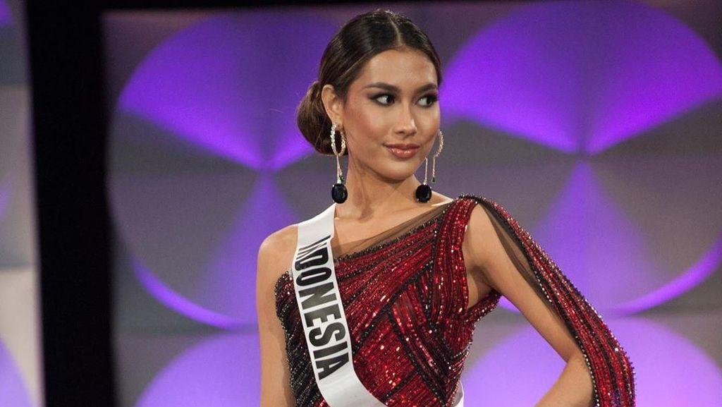 Foto: Penampilan Cantik Puteri Indonesia di Penjurian Miss Universe 2019