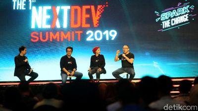 Telkomsel The NextDev Summit 2019 Banjir Mentor Top