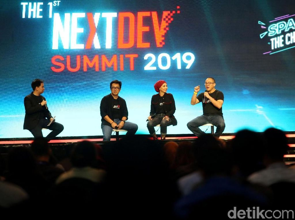 Telkomsel The NextDev Summit 2019 Banjir Mentor Top