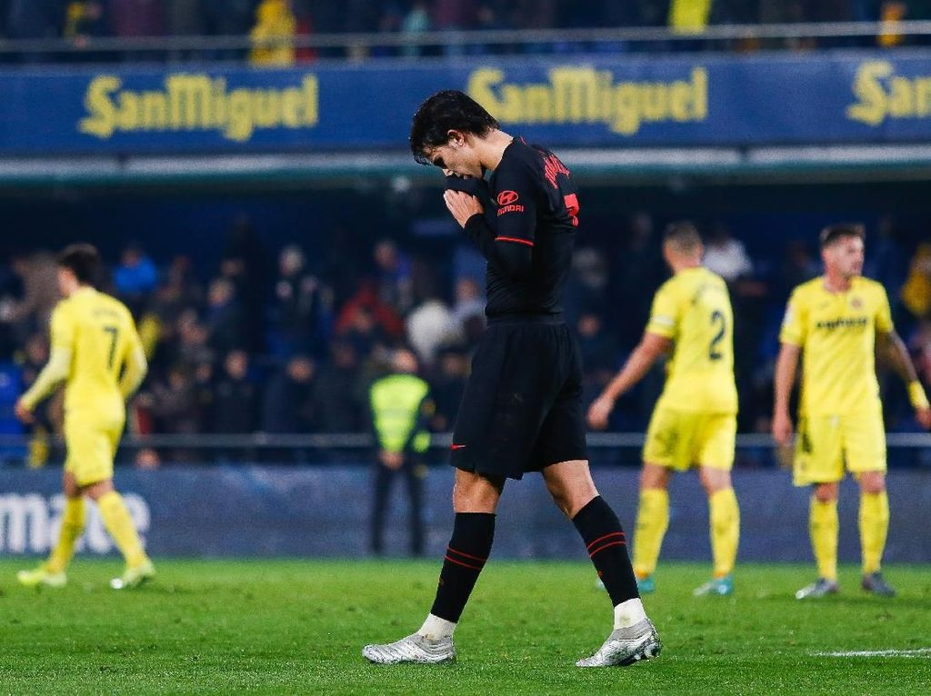 Diimbangi Villarreal, Puasa Kemenangan Atletico Berlanjut