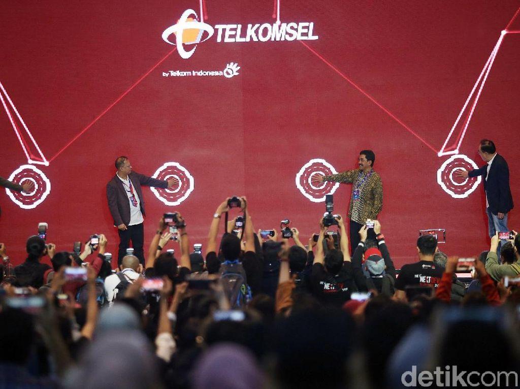 Kemeriahan Pembukaan Telkomsel The NextDev Summit 2019