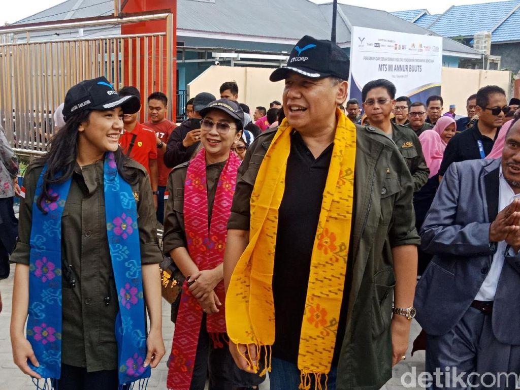 Chairul Tanjung Beri Motivasi Siswa Sekolah di Palu Jadi Pengusaha