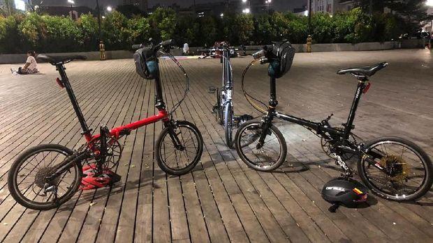 Sepeda Fhnon Gust. Foto: dok. pribadi Subarna