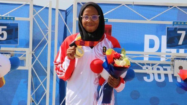 Dea Salsabila Putri sudah merebut dua medali emas di SEA Games 2019.