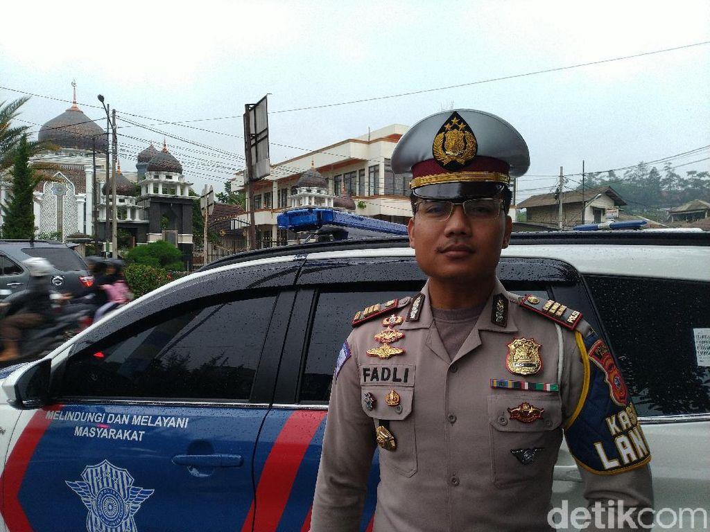 Polisi Klaim Hasil Positif Uji Coba Sistem 2-1 di Puncak