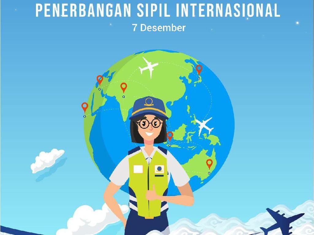 Hari Penerbangan Sipil, Kemenhub Kampanyekan Keselamatan Penerbangan