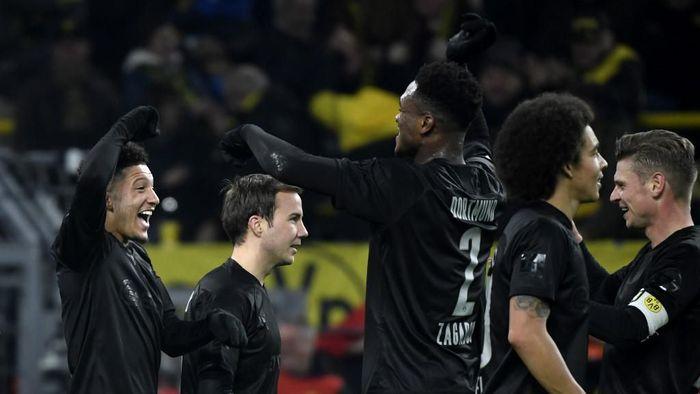 Borussia Dortmund pesta gol ke gawang Fortuna Dusseldorf di Liga Jerman (Foto: Photo by INA FASSBENDER / AFP)