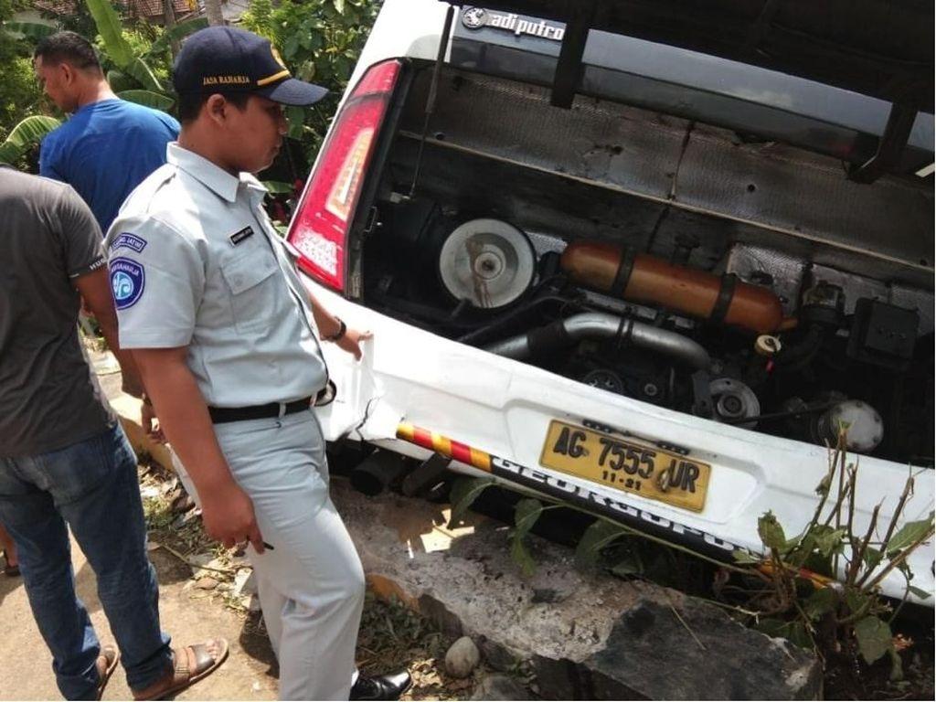 Korban Kecelakaan Bus Rombongan Guru di Blitar Dijamin Jasa Raharja