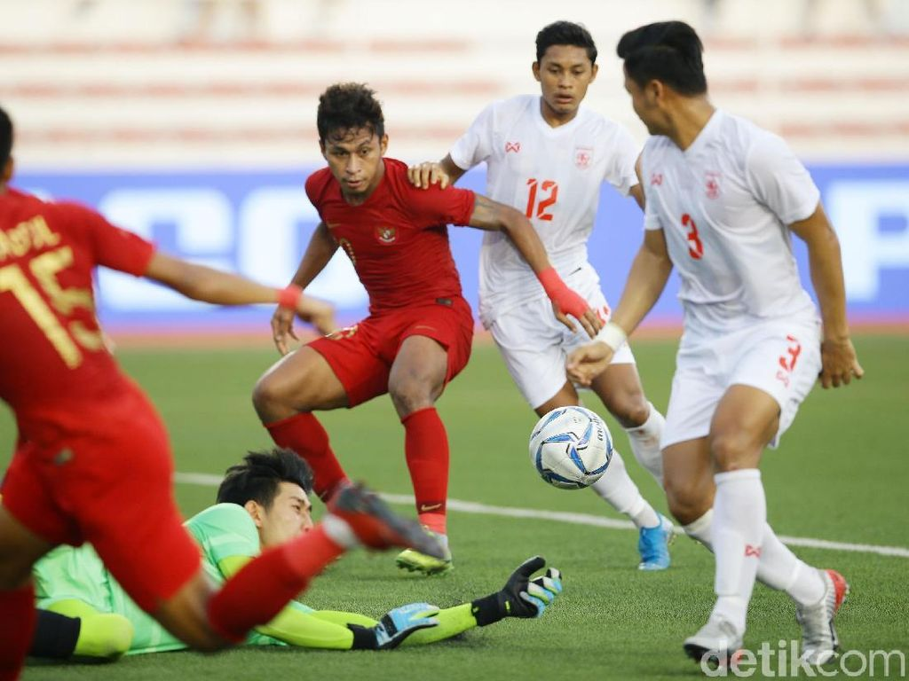Myanmar Vs Indonesia: Menang 4-2, Garuda Muda ke Final SEA Games 2019