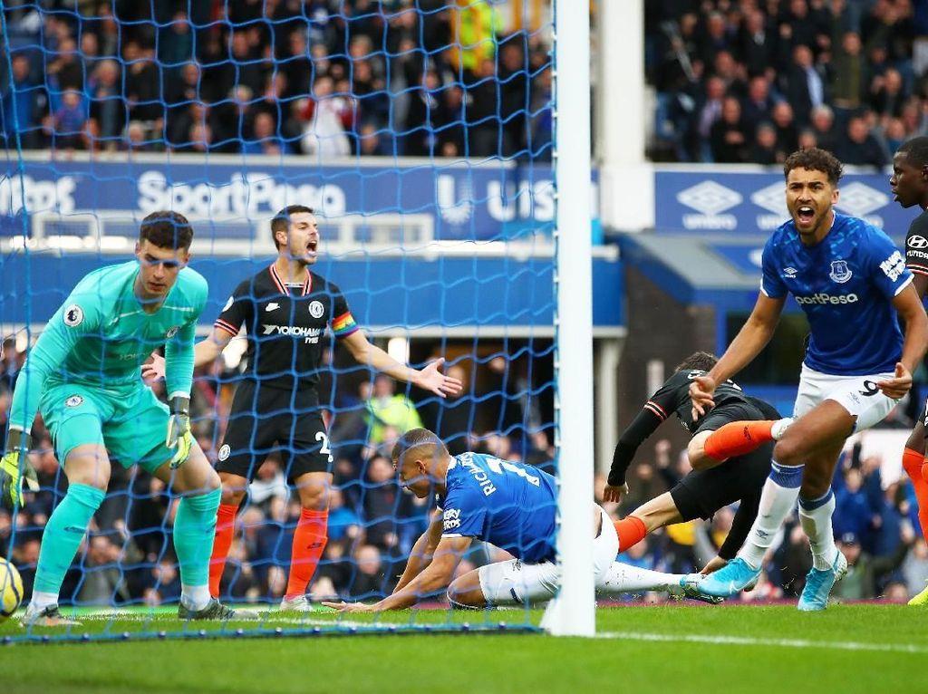 Chelsea Tertinggal 0-1 dari Everton di Babak I