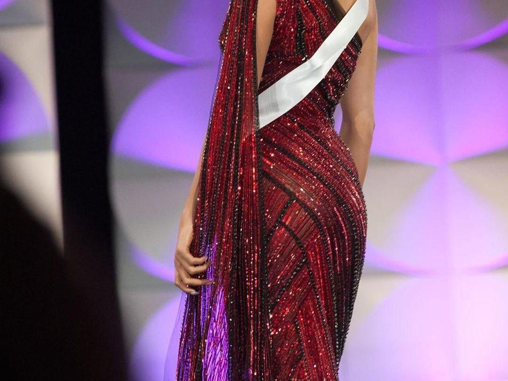 Puteri Indonesia Frederika Cull Tembus Top 10 Miss Universe 2019