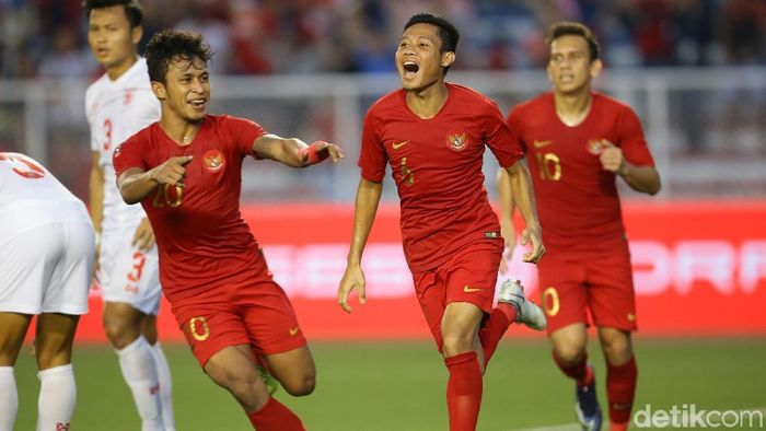 Timnas Indonesia U-22 harus lebih fokus saat menghadapi Vietnam di final SEA Games 2019. (Foto: Grandyos Zafna/detikcom)
