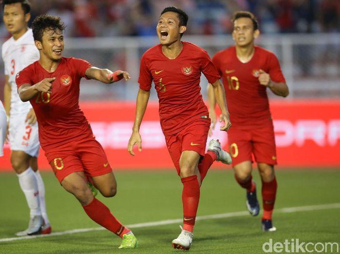Ada cocoklogi yang mendukung Timnas Indonesia U-22 meraih emas SEA Games 2019. (Foto: Grandyos Zafna/detikcom)