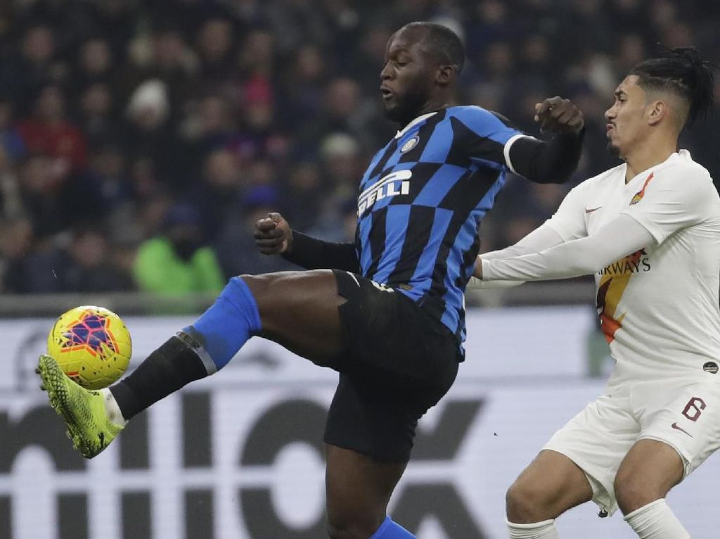 Inter Vs AS Roma Tuntas Tanpa Gol