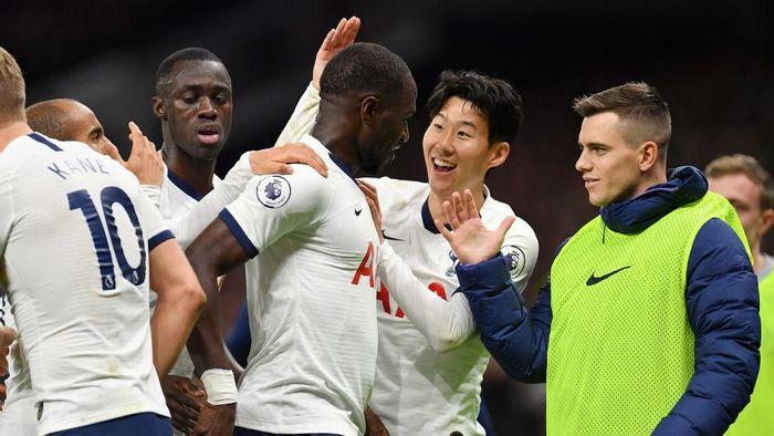 Tottenham Hotspur menang telak 5-0 atas Burnley. (Foto: Justin Setterfield/Getty Images)