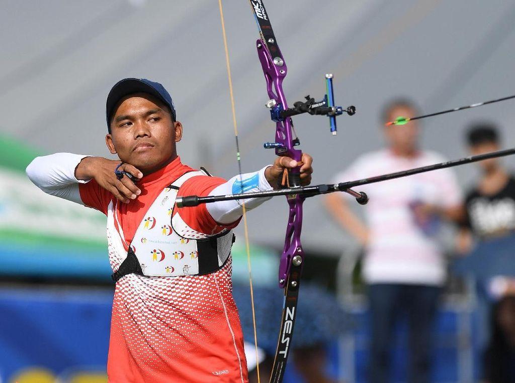 Hendra Purnama Sumbang Emas Recurve di SEA Games 2019