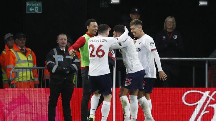 Liverpool terus melaju di puncak klasemen Liga Inggris (Alastair Grant/AP Photo)