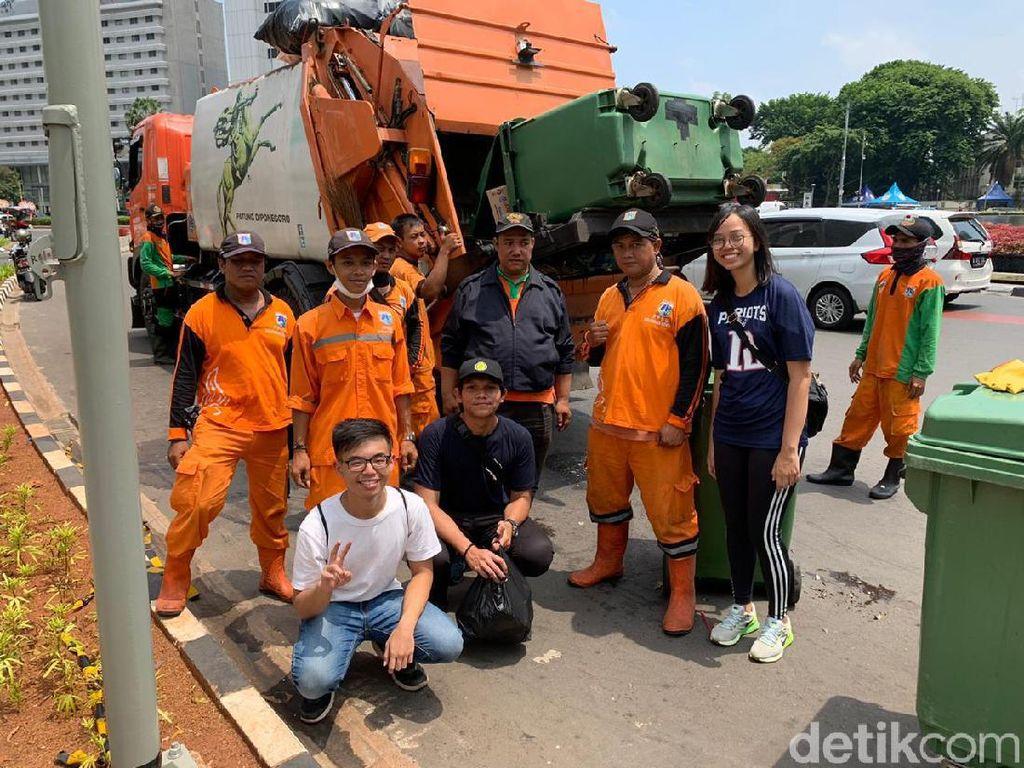 Awalnya Tugas Kampus, 3 Mahasiswa UI Ketagihan Bersih-bersih di CFD