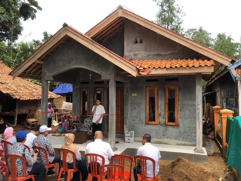 Kementerian PUPR Renovasi Rumah Tak Layak Huni di Banten
