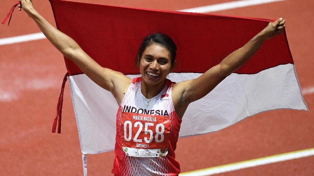Lompat Jauh Indonesia Raih Emas lewat Maria Londa