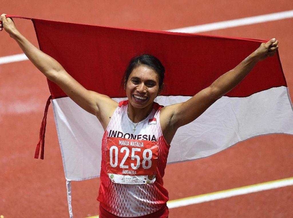 Maria Londa Genggam Perak & Emas SEA Games Saat Tak Berdaya Oleh Menstruasi
