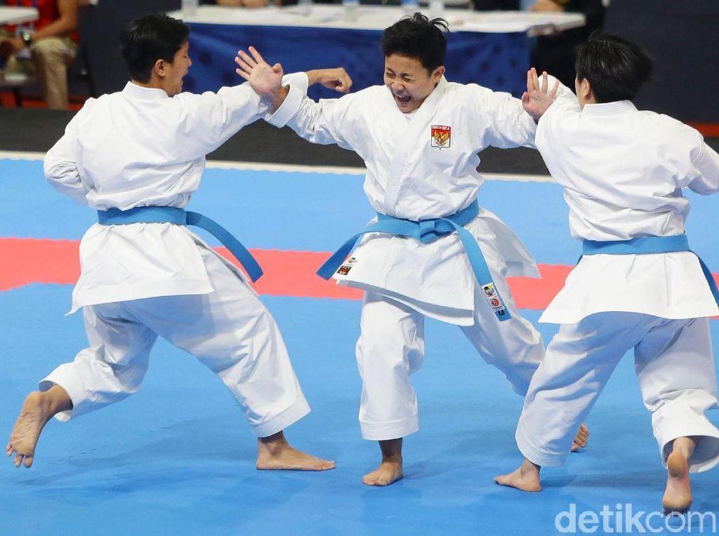 Lagi, Indonesia Raih Medali dari Karate
