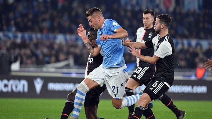 Lazio tumbangkan Juventus 3-1 (Foto: Marco Rosi/Getty Images)