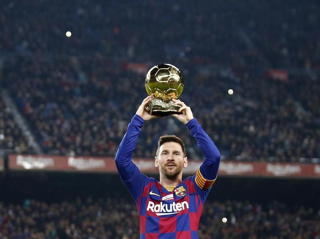 Ronaldinho Tak Bisa Akui Messi yang Terbaik Sepanjang Masa