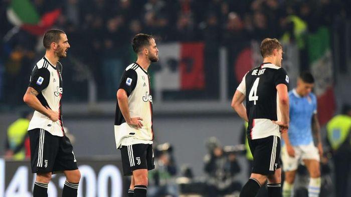 Juventus cenderung melempem di liga setelah tampil di Liga Champions. (Foto: Paolo Bruno/Getty Images)