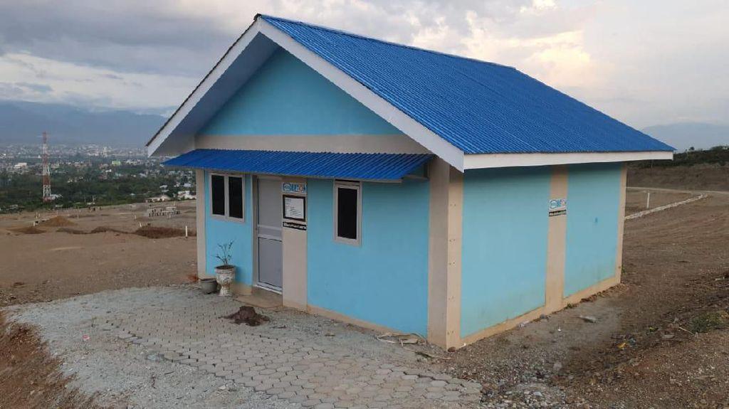 Rumah Buat Korban Gempa Palu Terus Dibangun, Begini Bentuknya
