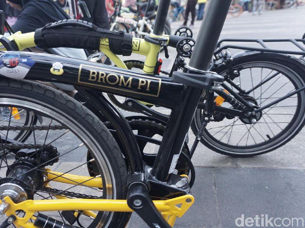 BROM PI, Sepeda Lipat Mirip Brompton Harga Pas di Kantong