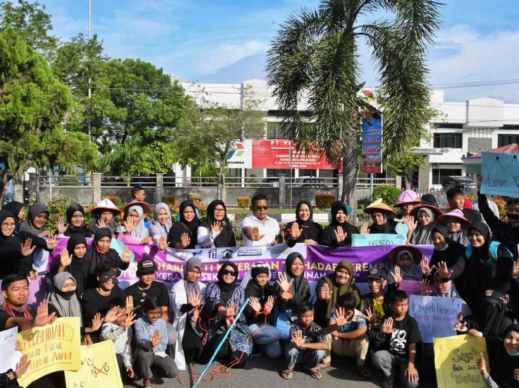 Walkot Banda Aceh Ajak Masyarakat Hapus Kekerasan Perempuan & Anak