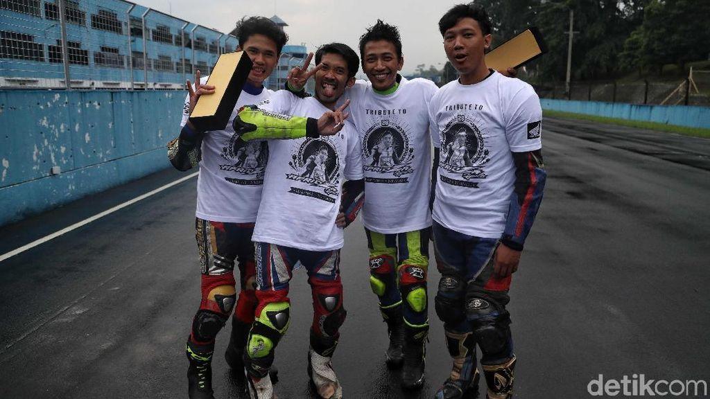 Ekspresi Semringah Pemenang Indonesia CBR Race Day