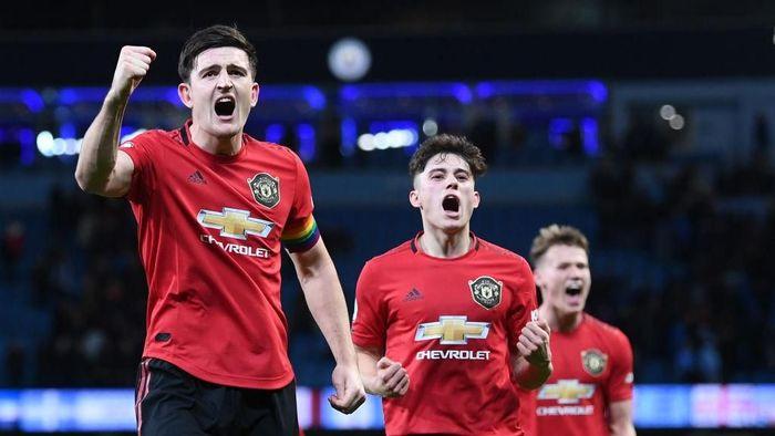 Manchester United memetik dua kemenangan penting sepanjang pekan lalu di Liga Inggris. (Foto: Laurence Griffiths/Getty Images)