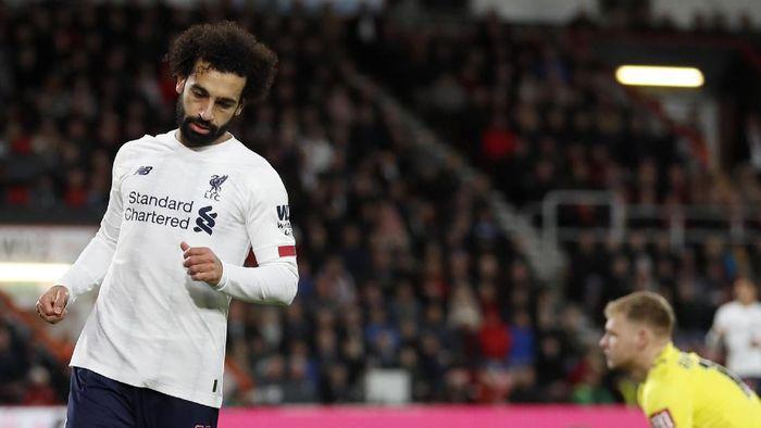 Mohamed Salah sudah fit 100 persen dan siap beraksi lagi (AP Photo/Alastair Grant)