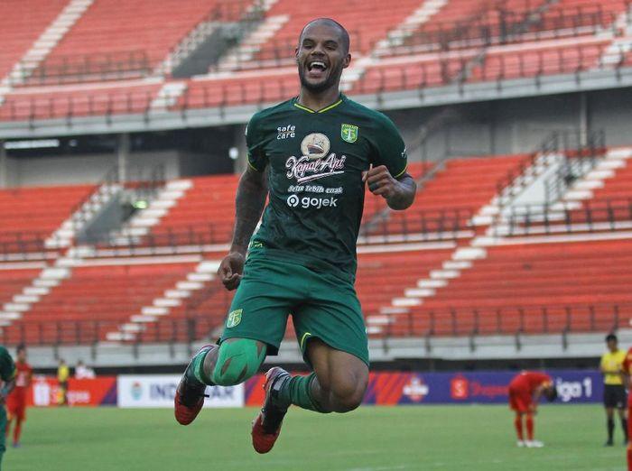 Persebaya Surabaya melawan Arema FC di Liga 1 hari ini. (Foto: Moch Asim/ANTARA)