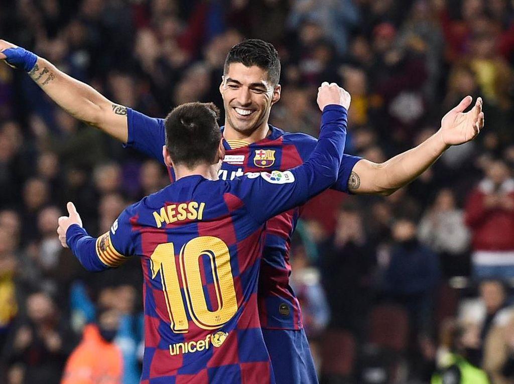 Mallorca Vs Barcelona: Menanti Kembalinya Duet Suarez dan Messi