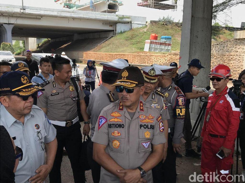 Mudik Natal dan Tahun Baru, Polisi Siapkan Rekayasa Lalin di Tol Layang Japek