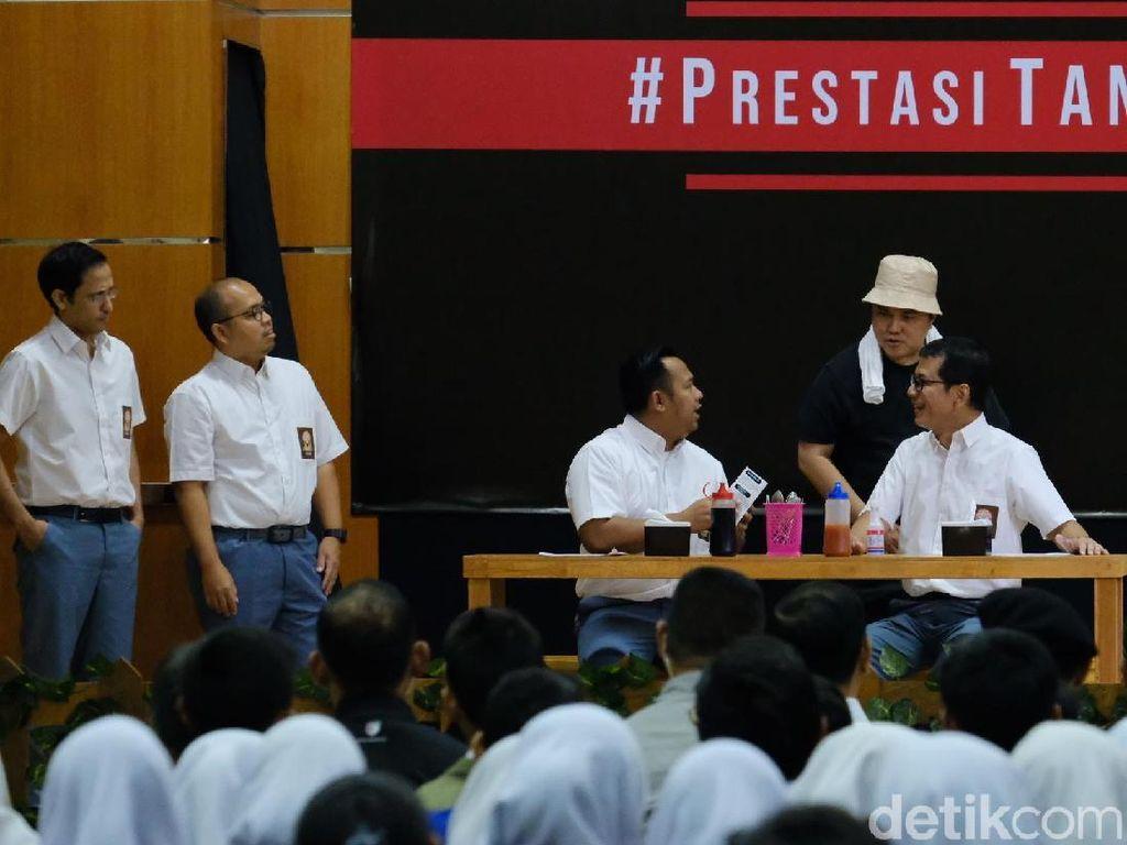 Aksi Drama Antikorupsi Para Menteri Bikin Tertawa Jokowi