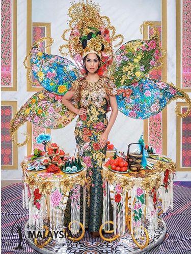 Miss Universe Malaysia batal menang kostum nasional terbaik di Miss Universe 2019.