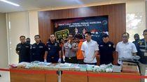 Polri Tangkap 4 Orang Penyelundup 37 Kg Sabu Lewat Laut dari Malaysia
